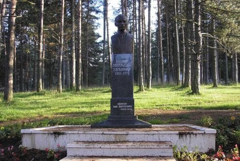 The Monument to Miladin Pećinar